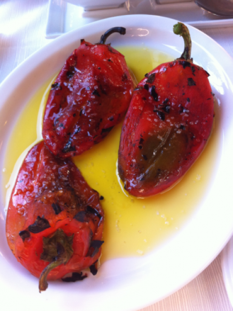 Florina red peppers