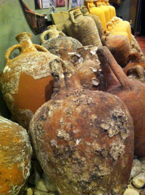 Amphoras at Wine Museum